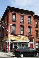 Building Facade in Williamsburg Brooklyn