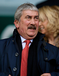 LIVERPOOL, ENGLAND - Saturday, February 23, 2008: Liverpool's Honorary Life President David Moores during the Premiership match at Anfield. (Photo by David Rawcliffe/Propaganda)