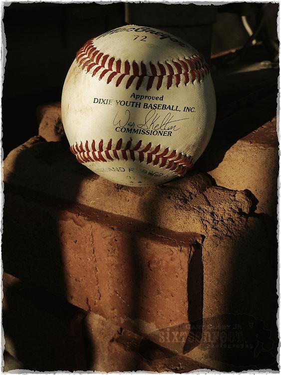 Gary Cosby Jr.  iPhone photographs<br /> Baseball still life.