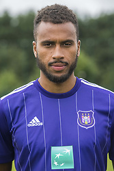 July 11, 2017 - Brussels, BELGIUM - Anderlecht's Isaac Kiese Thelin poses for photographer at the 2017-2018 season photo shoot of Belgian first league soccer team RSC Anderlecht, Tuesday 11 July 2017 in Brussels. BELGA PHOTO LAURIE DIEFFEMBACQ (Credit Image: © Laurie Dieffembacq/Belga via ZUMA Press)