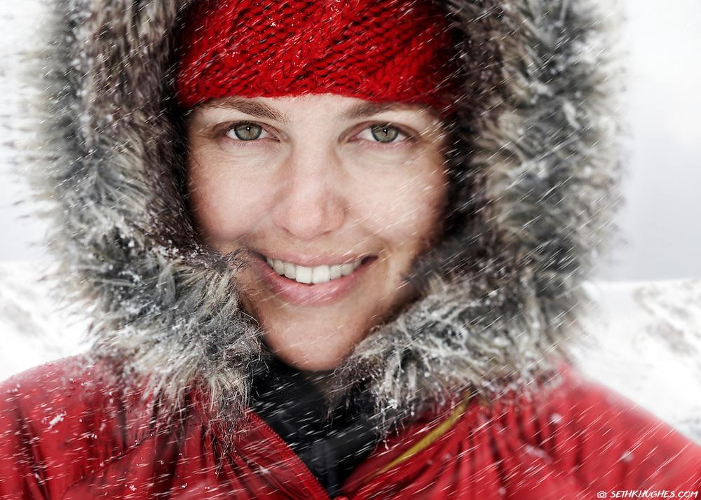 Andrea Knufken. Winter on Berthoud Pass, Colorado.