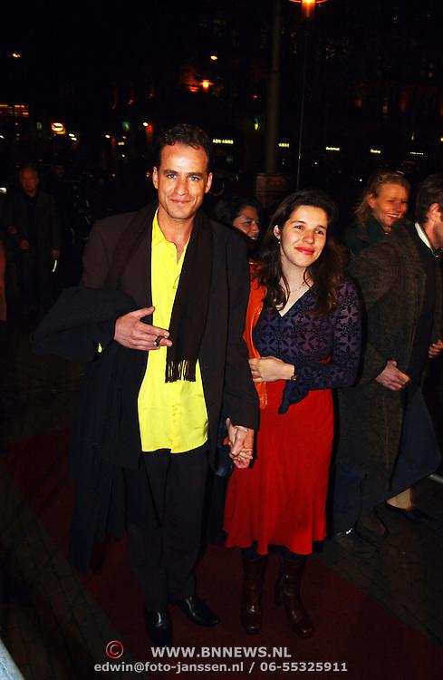 Premiere film Morlang, Marcel Faber en vrouw