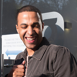 Marvin Humes of JLS arriving at Capital Radio studios after the band announced their splitting, Friday 03 May, 2013, Photo by: Gavin Rodgers / i-Images