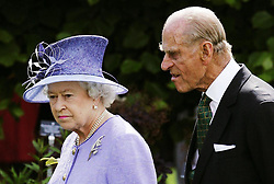 File photo dated 07/07/06 of Queen Elizabeth II and the Duke of Edinburgh at the unveiling of a garden dedicated to the late Queen Mother at the Royal Botanic Gardens in Edinburgh. The Royal couple will celebrate their platinum wedding anniversary on November 20.