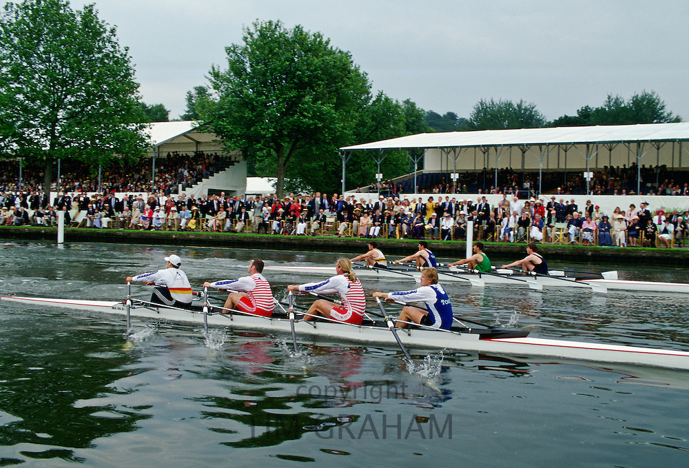 Henley Royal Regatta, Oxfordshire, England, United Kingdom