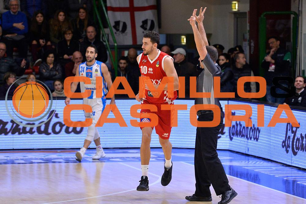 SASSARI 16 DICEMBRE 2017<br /> Banco di Sardegna Dinamo Sassari - The Flexx Pistoia<br /> LegaBasket LBA PosteMobile 2017/2018<br /> NELLA FOTO Raphael Gaspardo<br /> FOTO CIAMILLO - Luigi Canu