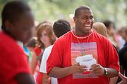 19027Freshman Convocation 9/07/08..Student African American Brotherhood..Shad Williams