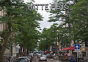 Witte de Withstraat is the main street for arts, culture, avant-garde shopping, and nightlife in central Rotterdam, Netherlands