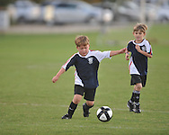 The Warriors play in Oxford Park Commission soccer action at FNC Park in Oxford, Miss. on Tuesday, September 27, 2011.
