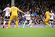 Fulham midfielder Tom Cairney (10) controlling ball during the EFL Sky Bet Championship match between Fulham and Preston North End at Craven Cottage, London, England on 4 March 2017. Photo by Matthew Redman.