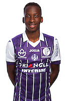 Dodi Lukebakio of Toulouse during the photo shooting session of Toulouse FC for the new season 2016/2017 in Toulouse on September 16th 2016<br /> Photo : TFC / Icon Sport