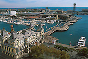 SPAIN, BARCELONA Port Vell, revitalized waterfront
