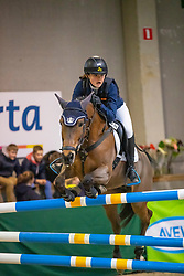 De Clercq Bo, BEL, Orchid's Joya<br /> Nationaal Indoor Kampioenschap Pony's LRV <br /> Oud Heverlee 2019<br /> © Hippo Foto - Dirk Caremans<br /> 09/03/2019