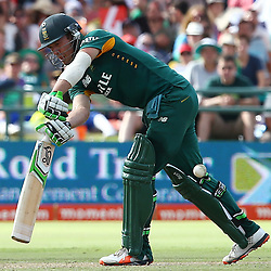 Cape Town, SOUTH AFRICA,  2016 - 14 February, AB de Villiers (c) during the 5th South Africa v England 1 Day match at PPC  Newlands Cape Town, South Africa. (Photo by Steve Haag)<br /> <br /> Images for social media must have consent from Steve Haag