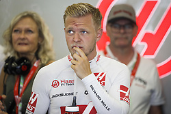April 27, 2018 - Baku, Azerbaijan - MAGNUSSEN Kevin (dnk), Haas F1 Team VF-18 Ferrari, portrait during the 2018 Formula One World Championship, Grand Prix of Europe in Azerbaijan from April 26 to 29 in Baku - Photo  /  Motorsports: World Championship; 2018; Grand Prix Azerbaijan, Grand Prix of Europe, Formula 1 2018 Azerbaijan Grand Prix, (Credit Image: © Hoch Zwei via ZUMA Wire)