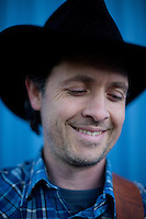Sandman, the rapping cowboy photographed in Dallas, Texas