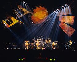 Dire Wolf. The Grateful Dead live in concert at the Nassau Coliseum, Uniondale NY, 4 April 1993.