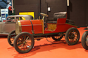 RIAC Classic Car Show 2013, RDS, 1903 Delahaye, owner: John Rowley. This four cylinder 16 hp Delahaye is believed to be the only surviving example of this particular model. It is notable as having the same gearbox and magneto as the Mercedes model of that year. Undoubtedly, a fascinating early twentieth century car. Irish, Photo, Archive.