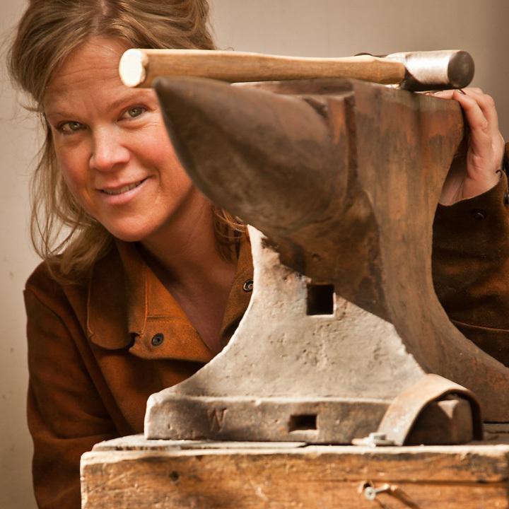 4.18.2012  Artist and sculptor, Marieke Heatwole, Anchorage