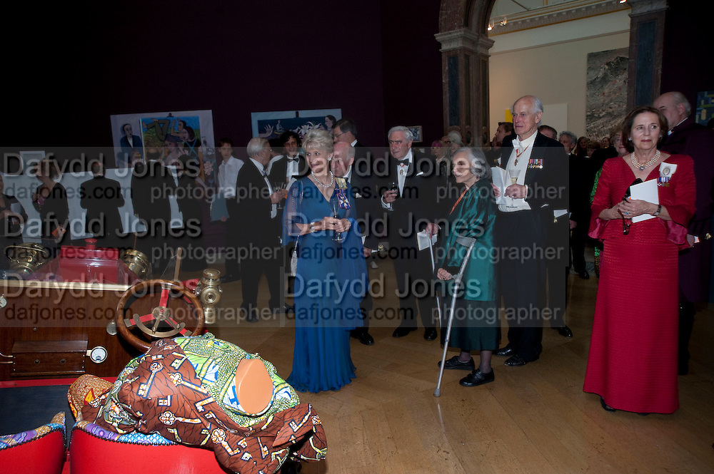 THE DUCHESS OF GLOUCESTER, Annual Dinner. Royal Academy of Arts. Piccadilly. London. 8 June 2010. -DO NOT ARCHIVE-© Copyright Photograph by Dafydd Jones. 248 Clapham Rd. London SW9 0PZ. Tel 0207 820 0771. www.dafjones.com.