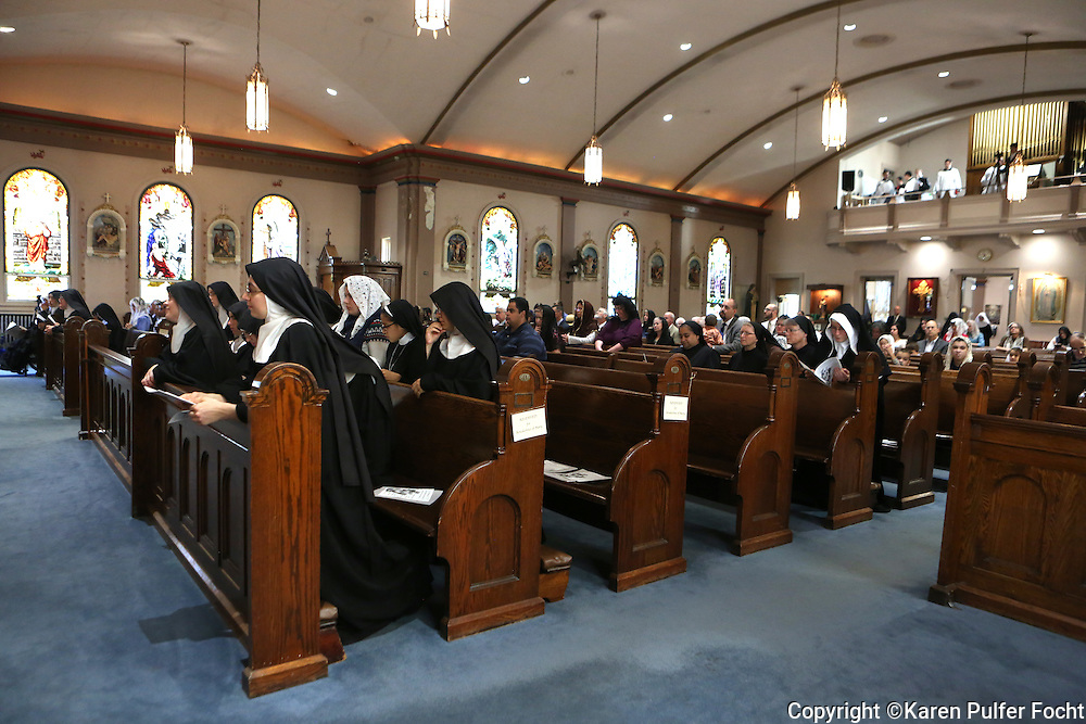 "Benedictines of Mary, Queen of Apostles have recently released their latest album, Adoration at Ephesus. Four of their albums have topped the charts. The cloistered nuns live and farm in rural Missouri. The community of women range in age from 18 to 92. They have chosen to come away from the world and spend their days working in silence-- except for when they are singing sacred music. These are women are seeking a conversion of life. ""We are in a sense reaching back through time and conserving that way of life for the future"" Mother Cecilia said. The Benedictine way of life has given the church thousands of saints."