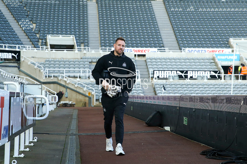 Rob Elliot of Newcastle United arrives ahead of the Premier League match between Newcastle United and Southampton at St. James's Park, Newcastle, England on 8 December 2019.