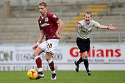 Northampton Town Midfielder Lee Martin during the Sky Bet League 2 match between Northampton Town and Morecambe at Sixfields Stadium, Northampton, England on 23 January 2016. Photo by Dennis Goodwin.