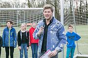 2018-030-21. DVSU, Utrecht. Kick-off sportplaatjesactie. Op de foto: