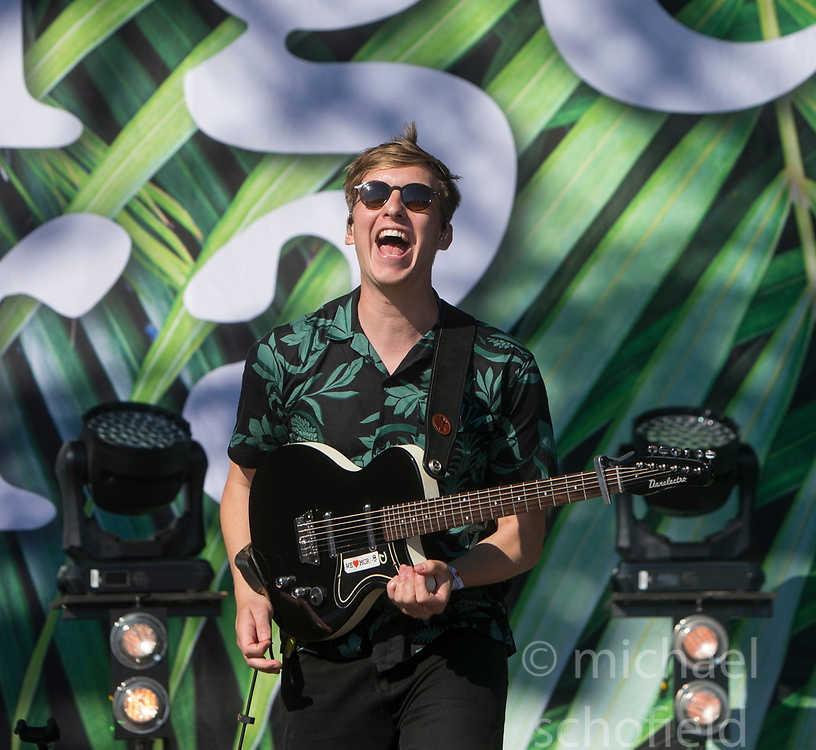 George Ezra plays the main stage. Saturday at TRNSMT music festival, Glasgow Green.