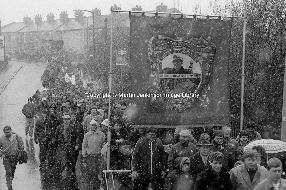David Jones memorial march, Moorthorpe