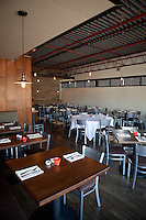 Interior of The Block Restaurant in Webster Groves in St. Louis, MO.