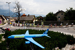 Riders near Brnik airport during Stage 2 of 24th Tour of Slovenia 2017 / Tour de Slovenie from Ljubljana to Ljubljana (169,9 km) cycling race on June 16, 2017 in Slovenia. Photo by Vid Ponikvar / Sportida