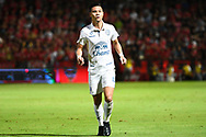 NONTHABURI, THAILAND - JULY 09: Narubadin of Buriram United during the second half of the Thai League: SCG Muangthong United vs Buriram United at SCG Stadium, Nonthaburi, Thailand on July 09, 2017.<br /> .<br /> .<br /> .<br /> (Photo by: Naratip Golf Srisupab/SEALs Sports Images)<br /> .<br /> Any image use must include a mandatory credit line adjacent to the content which should read: Naratip Golf Srisupab/SEALs Sports Images