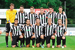 The Team of ND Mura during the football match between ND Mura and ND Gorica in 1st Round of Pokal Slovenije 2015/16, at Fazanerija on August 19, 2015 in Murska Sobota, Slovenia. Photo by Mario Horvat / Sportida