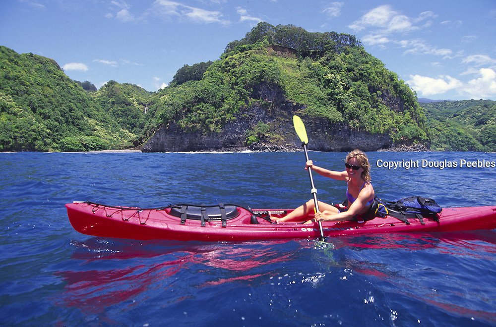Kayaking, Hana Coast, Maui, Hawaii<br />