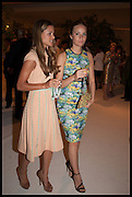 IRENE FORTE; PETRA PALUMBO, Cartier dinner in celebration of the Chelsea Flower Show. The Palm Court at the Hurlingham Club, London. 19 May 2014.