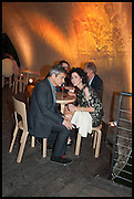 HARRY HANDLESMAN; MOLLIE DENT-BROCKLEHURST, 2014 Serpentine's summer party sponsored by Brioni.with a pavilion designed this year by Chilean architect Smiljan Radic  Kensington Gdns. London. 1July 2014