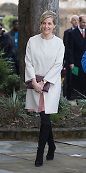 LONDON- UK- 20-JAN-2015- The Earl and Countess of Wessex attend engagements in support of The Queen's Diamond Jubilee Trust and Tomorrow's People on The Countess' 50th birthday.<br /> Photograph by Ian Jones