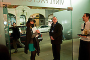 THE  Vinyl Factory opening OF a pop-up store in the St. Martin's Lane Hotel. 8 March 2011. -DO NOT ARCHIVE-© Copyright Photograph by Dafydd Jones. 248 Clapham Rd. London SW9 0PZ. Tel 0207 820 0771. www.dafjones.com.
