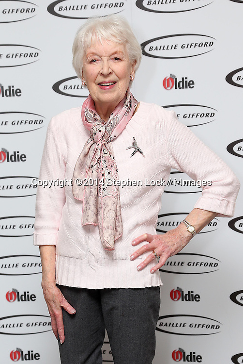 June Whitfield  at the Oldie of the Year Awards in London, Tuesday, 4th February 2014. Picture by Stephen Lock / i-Images