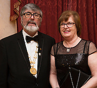 02/03/2017 Repro free:  Kevin and Catherine Sherridan at the SCSI, Society of Chartered Surveyors of Ireland West branch Annual Dinner 2017 at the Ardilaun Hotel, Galway. Photo:Andrew Downes.