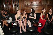 Sarah Lovatt, Nell Hudson and Tallulah Riley, Tatler's Little Black Book party. Tramp. Jermyn St.  London. 7 November 2007. -DO NOT ARCHIVE-© Copyright Photograph by Dafydd Jones. 248 Clapham Rd. London SW9 0PZ. Tel 0207 820 0771. www.dafjones.com.