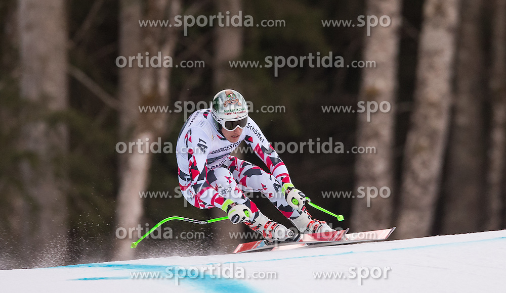 30.01.2016, Kandahar, Garmisch Partenkirchen, GER, FIS Weltcup Ski Alpin, Abfahrt, Herren, im Bild Otmar Striedinger (AUT) // Otmar Striedinger of Austria competes in his run for the men's Downhill of Garmisch FIS Ski Alpine World Cup at the Kandahar course in Garmisch Partenkirchen, Germany on 2016/01/30. EXPA Pictures © 2016, PhotoCredit: EXPA/ Johann Groder