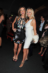 Left to right, HEATHER KERZNER and HEATHER BIRD-TCHENGUIZ at the inaugural Gabrielle's Gala in London in aid of Gabrielle's Angel Foundation for Cancer Research held at Battersea Power Station, London on 7th June 2012.