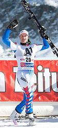 23.10.2011, Rettenbachferner, Soelden, AUT, FIS World Cup Ski Alpin, Herren, Riesenslalom, im Bild Jubel von Alexis Pinturault (FRA, Platz 2) // during Mens ginat Slalom at FIS Worldcup Ski Alpin at the Rettenbachferner in Solden on 23/10/2011. EXPA Pictures © 2011, PhotoCredit: EXPA/ Johann Groder
