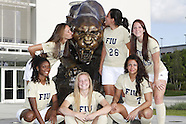 FIU Women's Soccer Team Pictures 2013