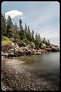 This little rocky cove along the coast of Mount Desert Island in Acadia National Park is the perfect escape.