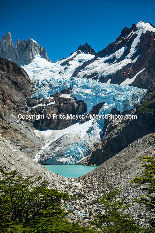 El Chalten, Los Glaciares National Park, Patagonia, Argentina, February 2016. A spectacular hike up to Mount Fitz Roy. El Chalten is a good trekking base for Los Glaciares NP. A 4x4 camper is one of the best vehicles to explore the wild interior of Southern Patagonia. Photo by Frits Meyst / MeystPhoto.com