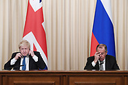 Boris Johnson visit to Russia - 22 Dec 2017