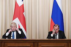 Boris Johnson visit to Russia - 22 Dec 2017